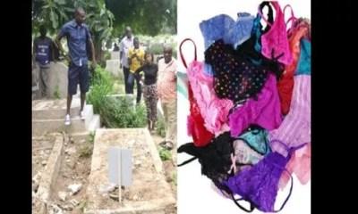 Zimbabwe, Des Dessous De Femmes, Découverts ,cimetière Pour Un ,rituel D'argent