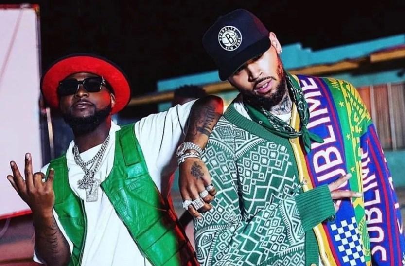 Davido Blow My Mind Ft. Chris Brown Lyrics