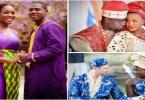 Mariage Africain Couples Mariés En Tenue Traditionnelle Doingbuzz