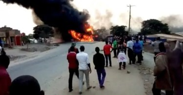 Ouganda ,19 Morts ,explosion, Camion Citerne