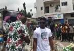Stars Aux Funérailles,jarafat,arrivée , Tenor, Abidjan