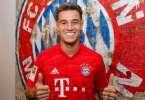 Coutinho Sous Le Maillot Du Bayern Munich 261451