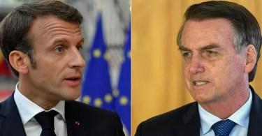Macron Contre Ambassadeur Du Bresil