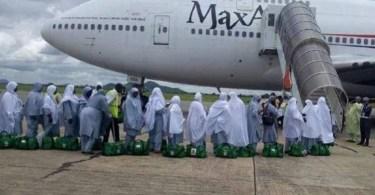 Nigeria,un Avion Transportant,pèlerins,atterrissage Brutal