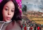 Xénophobie, Une Femme Révèle ,les Hommes Sud Africains ,attaquent , Nigérians