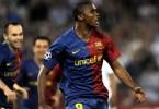 Samuel Eto O Celebre Son But En Finale De La Ligue Des Champions 2009 Face A Manchester United 262950