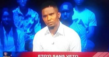 Etienne Eto'o écarté de l'équipe de foot, Son père Samuel réagit enfin