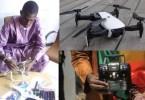Zégué le malien déchets plastiques drones made in Mali
