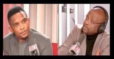 CamerounSamuel Eto'on ministre camerounais m'a carrément menacé