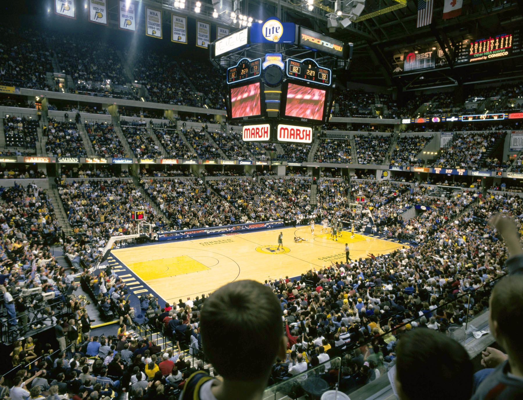 Conseco Fieldhouse  Doing Indy