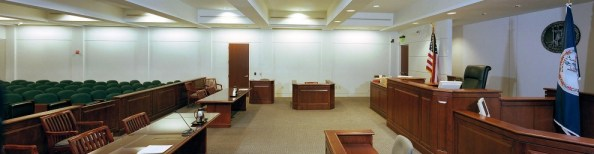 Court Room for Personal Injury Lawyer Wall NJ