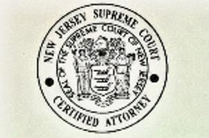board certified new jersey personal injury attorney image of board certification logo