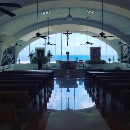 Guadalupe Chapel Inside Isla Mujeres