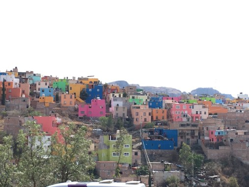 Beautiful colors in the hills of Guanajuato