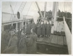 Aboard HMT Maidan on Feb. 12, 1915