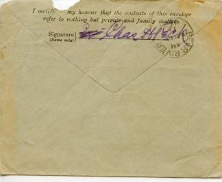 April 22, 1915 back of cover