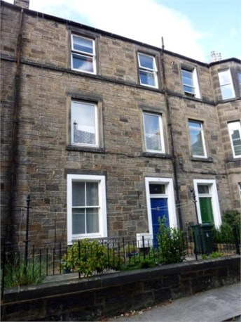 16 Richmond Terrace, EdinburghJohn lived here with his parents before he was married and his widow and children lived here after his death