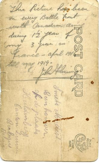 The back of the preceding postcard