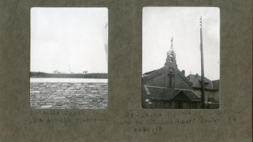 Delville Wood / Interim church in Albert