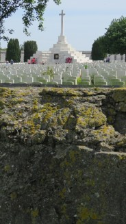 Tyne Cot from the roof of a German pillbox