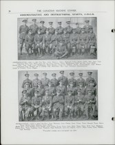 Staff at the CMG Depot, CMG Vol. 1 No. 10, May 1918. Source: Library and Archives Canada
