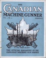 The Canadian Machine Gunner, Vol. 1 No. 4, November 1917. Source: Library and Archives Canada