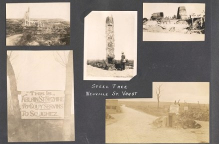 Archie Wills Photograph Album, image 18. Source: Victoria to Vimy Exhibit UVic Library Special Collections