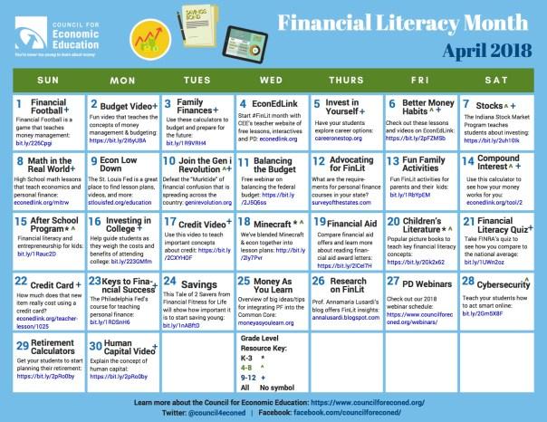FinLit-Calendar J