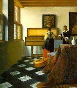 The Music Lesson by Jan Vermeer: There are many ways to learn!