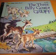 The Three Billy Goats Gruff was an unplanned memory project when one of the boys fell in love with it.