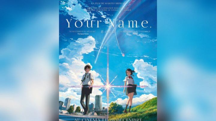 YOUR NAME (Animation / Fantastique – Chef d'oeuvre)