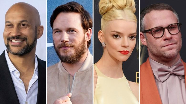 Chris Pratt, Anya Taylor-Joy, Keegan-Michael Key, Seth Rogen