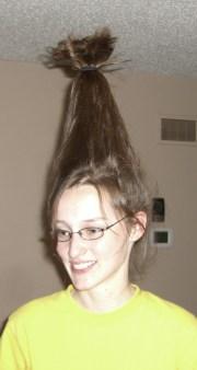 wear tall hair