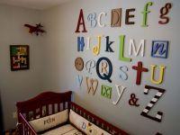 Alphabet Nursery Wall Decor  Do It And How