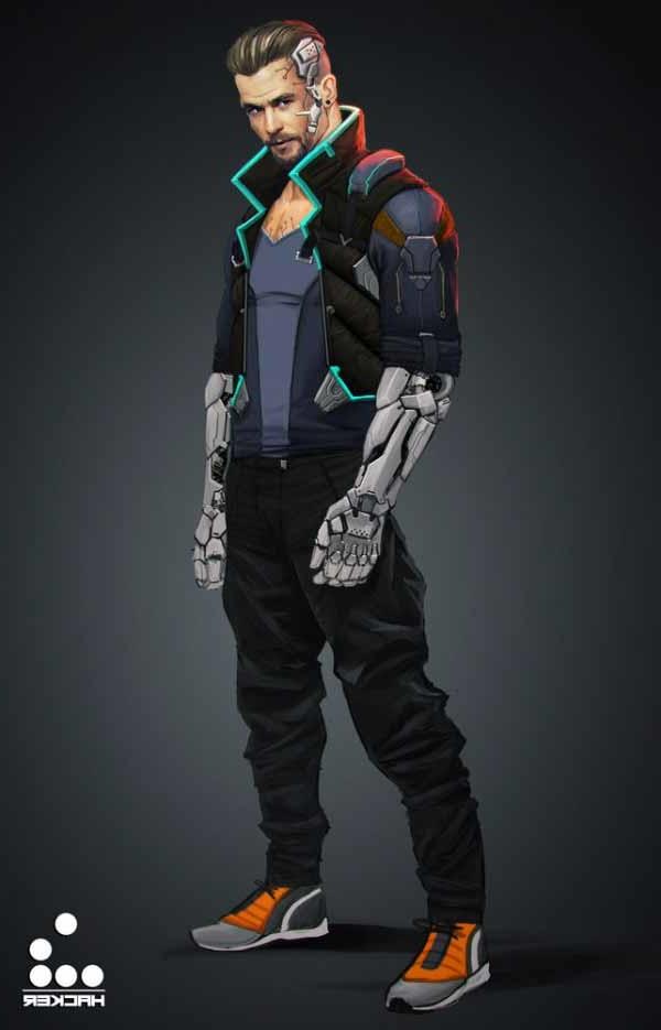 Soldier Iphone Wallpaper 20 Fantastic Cyberpunk Character Concept Art Inspiration