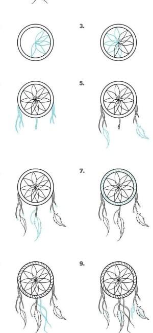 step beginners easy draw drawing cool drawings doodle simple sketches tutorials steps yakari