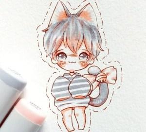 anime step drawing easy boy drawings draw beginners eyes beginner tutorials cat pencil before tutorial