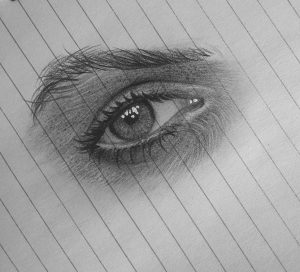 impressive draw realistic drawing eye easy step