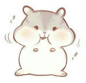 hamster drawing easy kawaii cartoon chibi drawings