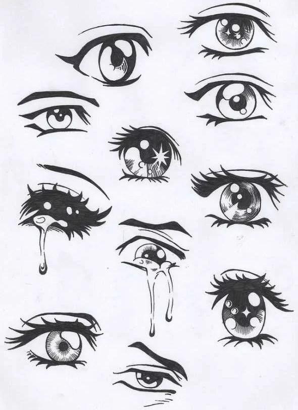 Heartbroken Cry Eye Draw : heartbroken, Drawings, Tears, Crying