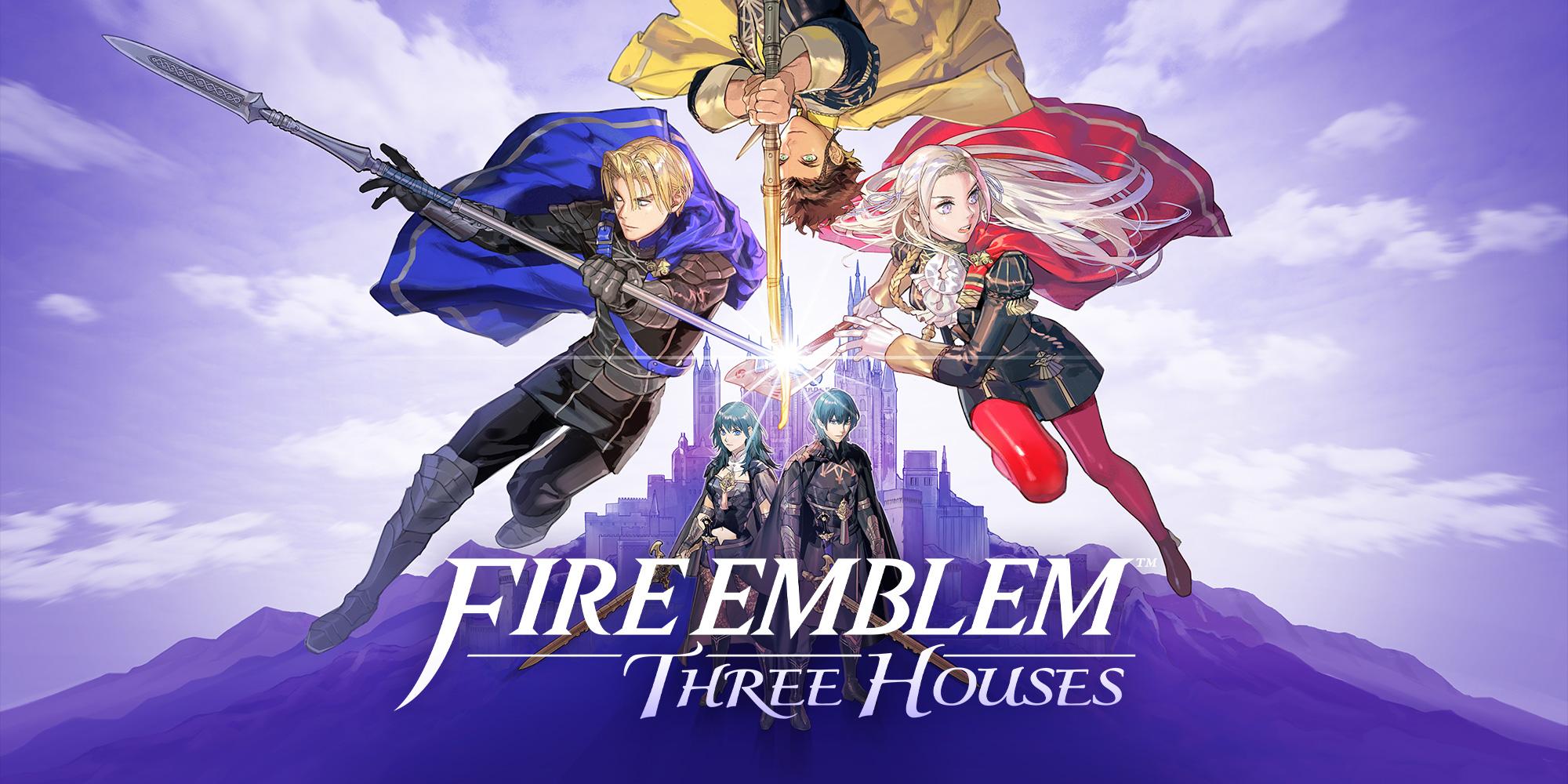 Fire Emblem: Three Houses – La Cover Art ufficiale