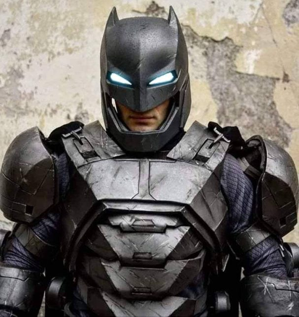 armored batman cosplay