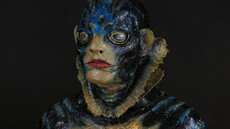 Un eccellente costume dell'uomo anfibio dal film La forma dell'acqua!