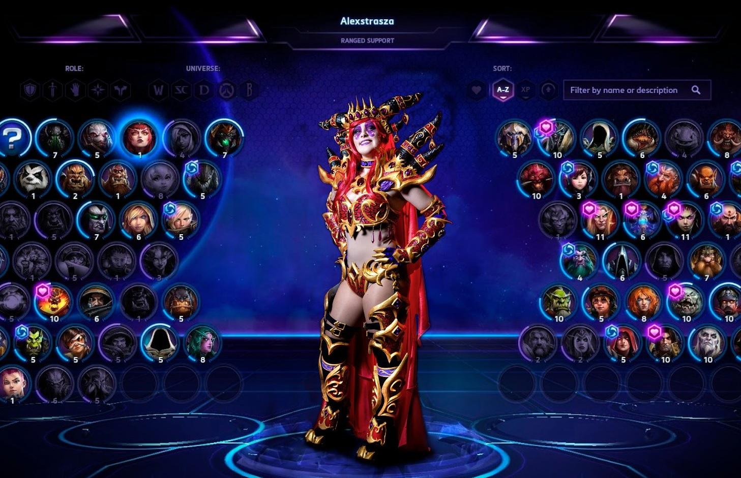 Dall'universo di World of Warcraft ecco un bellissimo cosplay di Alexstrasza!