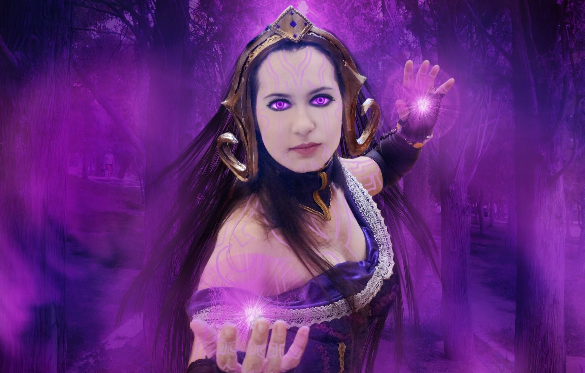 A splendid Liliana Vess costume by the Greek cosplayer 20Tourniquet02's Art