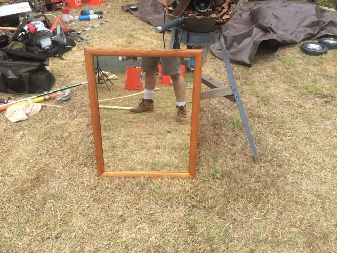 lawn mirror