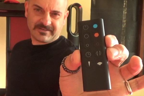 Dyson fan-remote