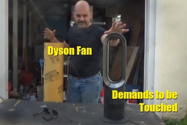 Dyson fan-touched