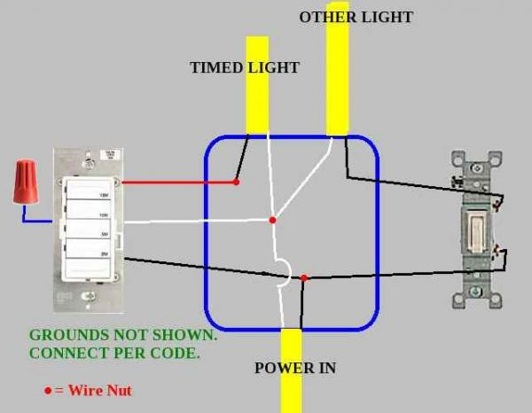 Motion Sensor Light Switch Wiring