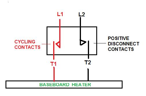 2-wire Shutoff With 4-wire Manual Baseboard Electric